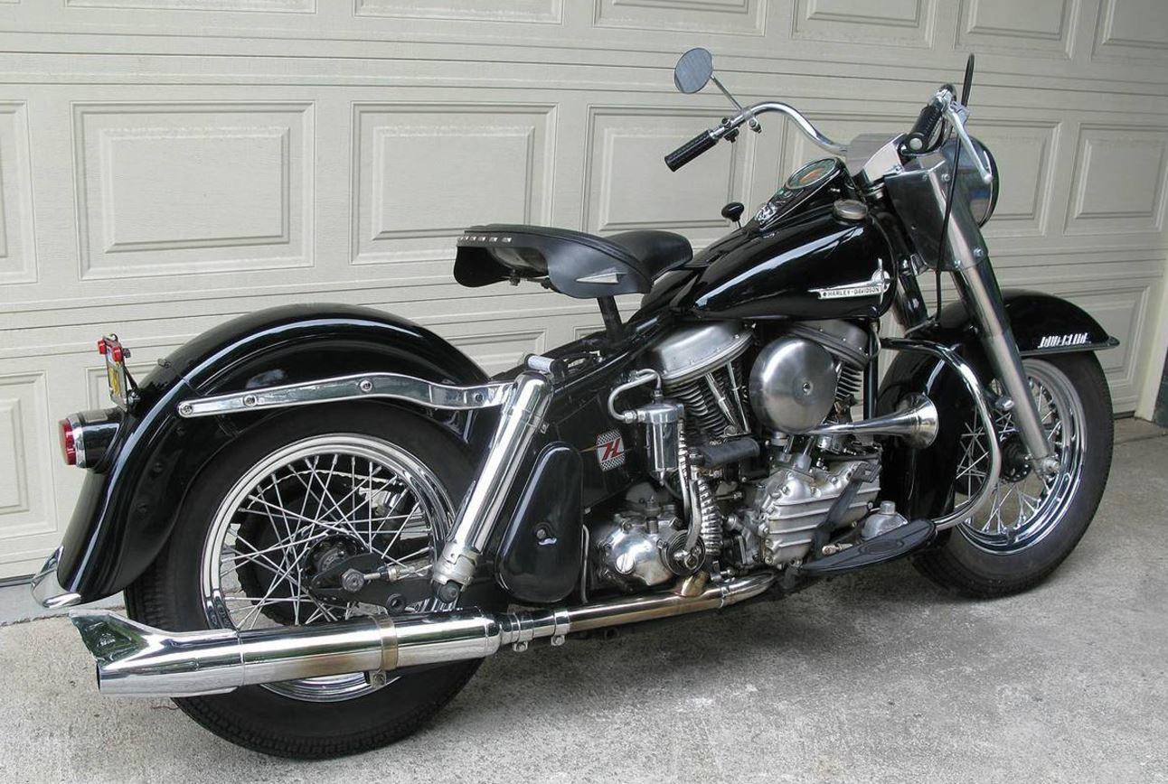 Harley Davidson Flh Panhead For Sale