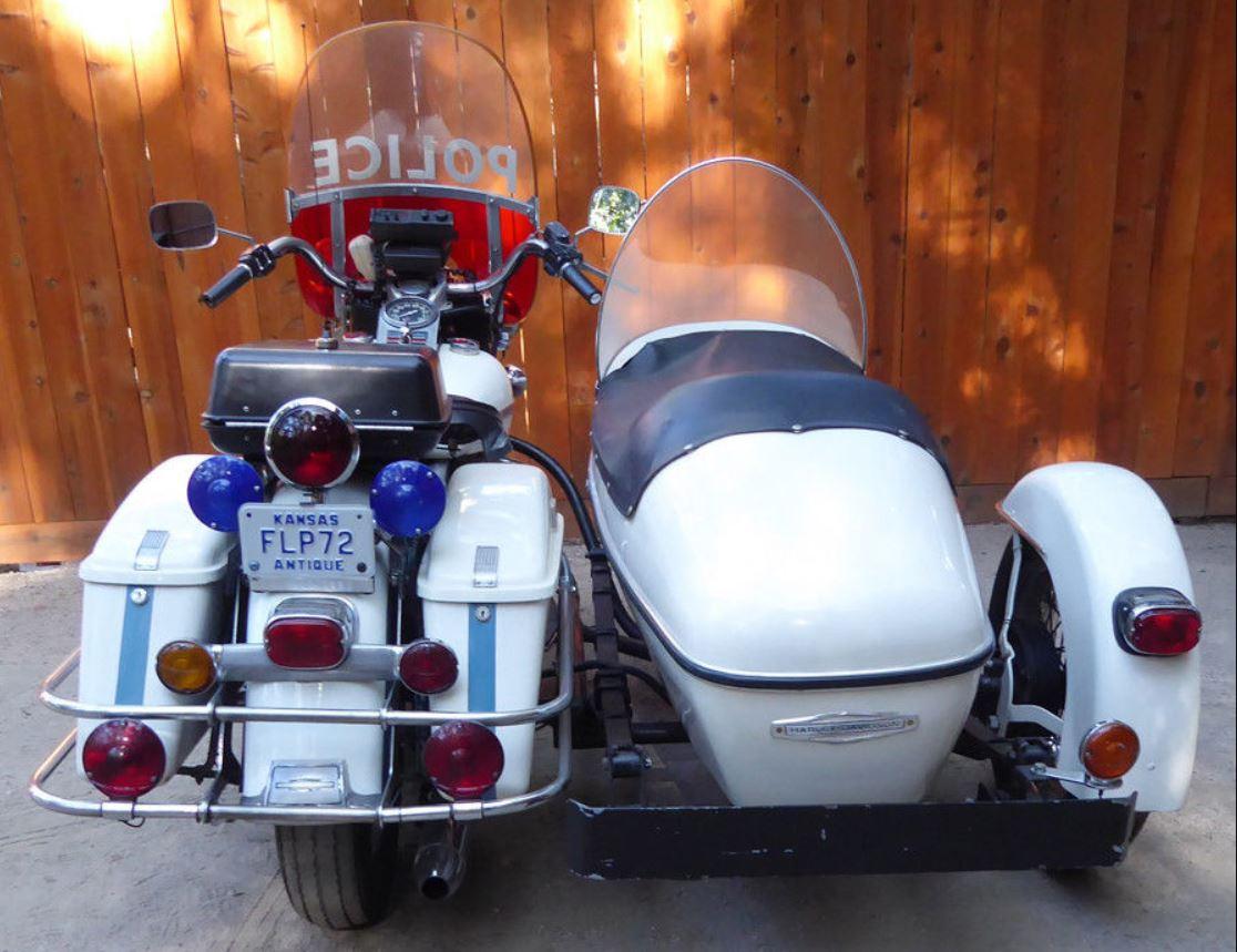5ee01bc0ef6 Flipboard  1972 Harley-Davidson FLH Police Sidecar
