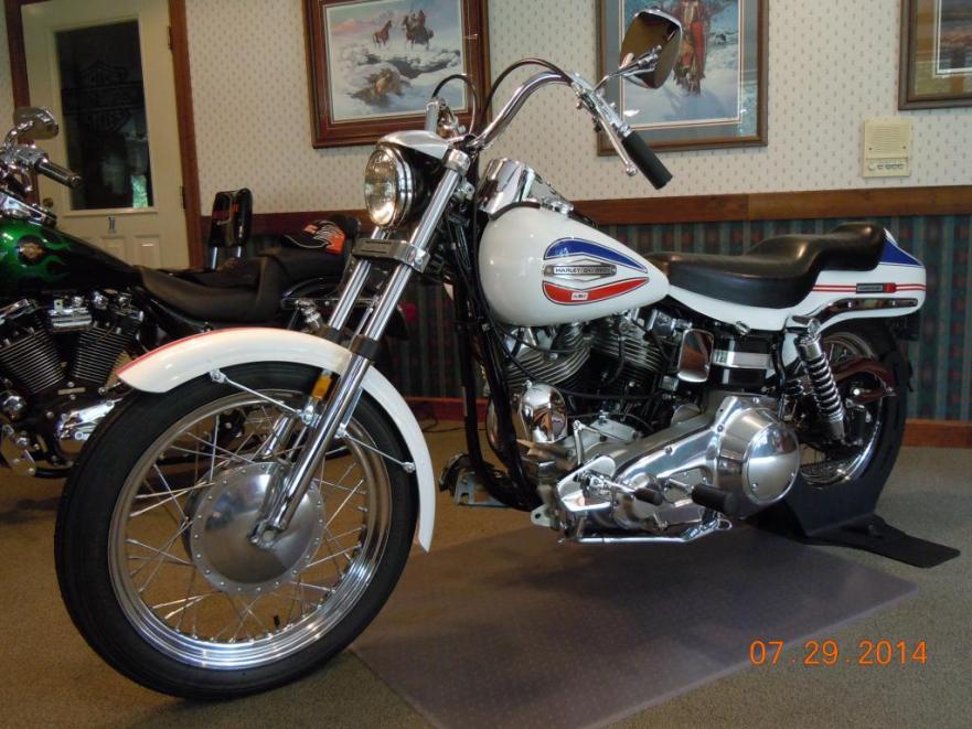 Harley-Davidson FX Super Glide - Left Side