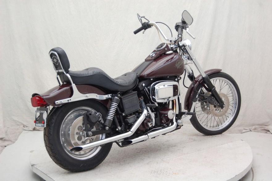 Harley Davidson FXDG Willie G Special - Right Rear