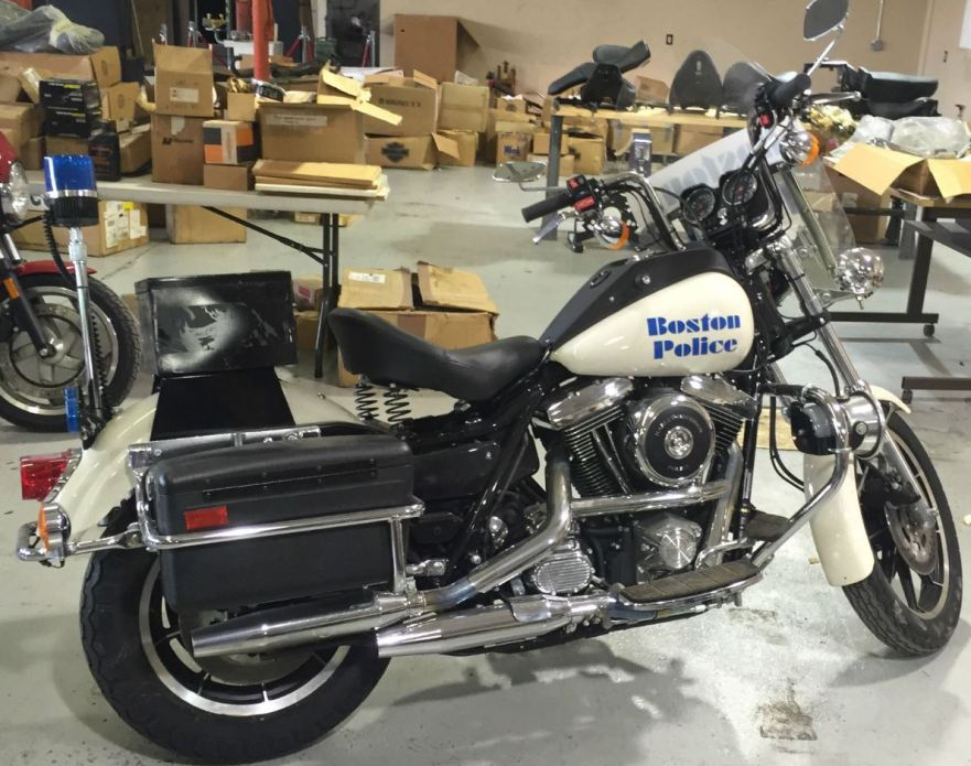 9 Miles – 1994 Harley-Davidson FXRP – Bike-urious