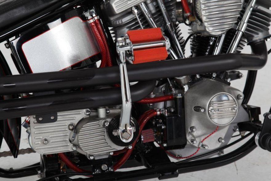 Harley-Davidson FXS Low Rider Custom - Engine