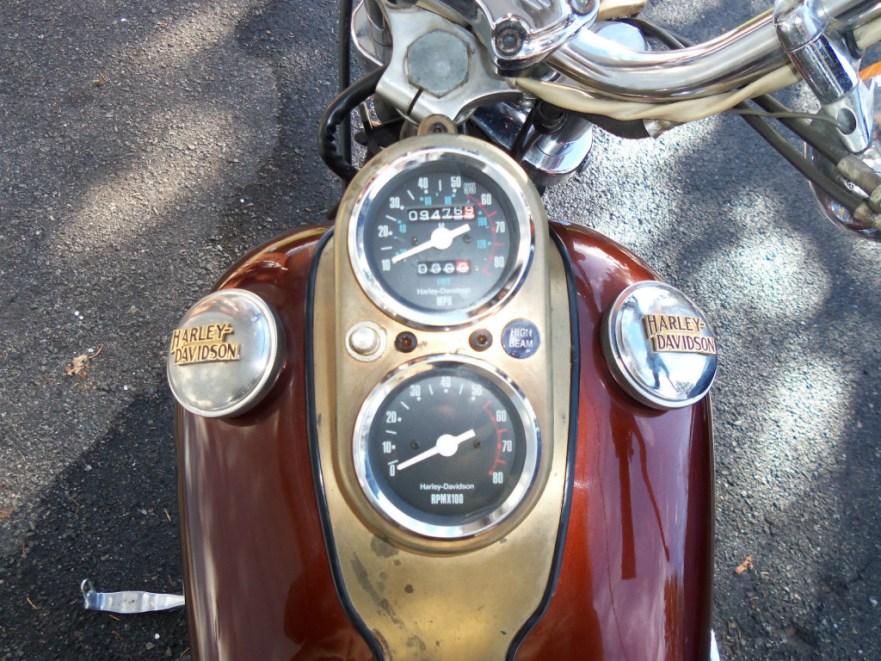 Harley-Davidson FXSB Dealer Award - Gauges