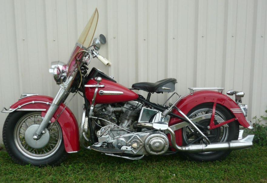 1949 harley-davidson hydra glide | bike-urious