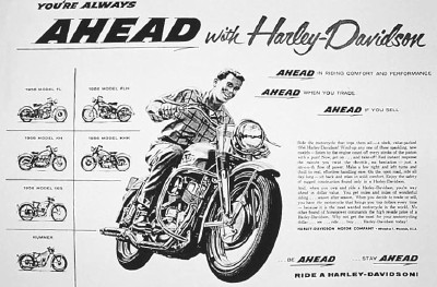 from http://auto.howstuffworks.com/1956-harley-davidson-khk1.htm