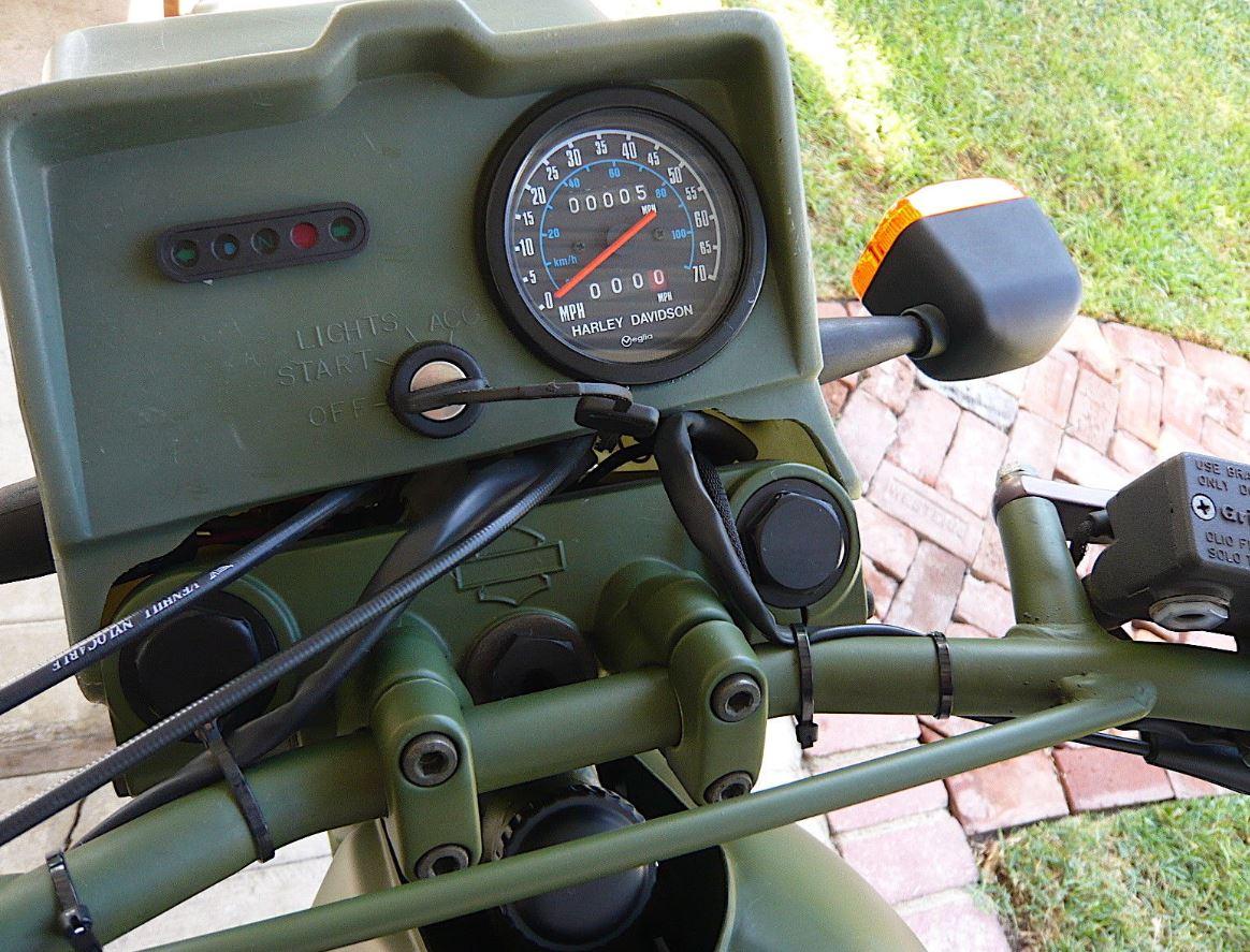 Military Vehicle – 1999 Harley-Davidson MT500 – Bike-urious