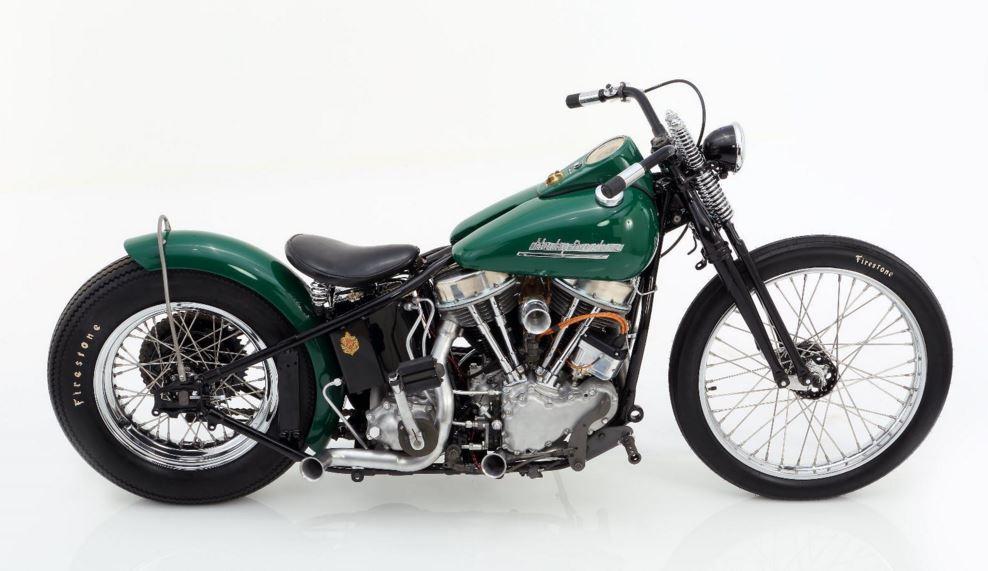1961 Harley Davidson Panhead Chopper Bike Urious