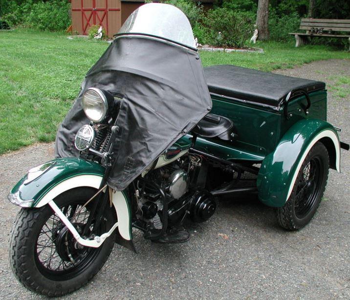 Harley-Davidson Servi Car - Front