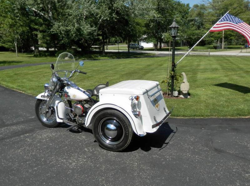 Harley Davidson Servi-Car - Left Side