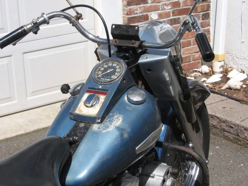 Harley-Davidson Servicar - Cockpit