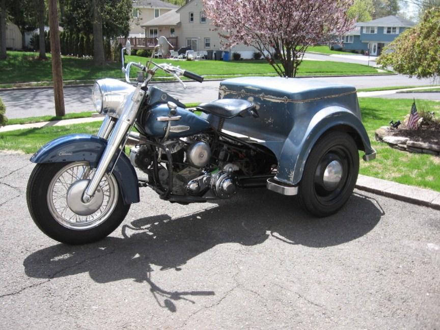Harley-Davidson Servicar - Left Side