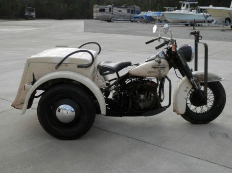 Harley-Davidson Servicar - Right Side