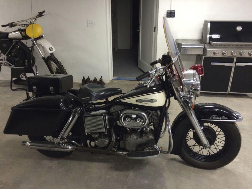 1968 Harley-Davidson Shovelhead Police – Bike-urious