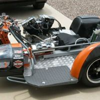 1984 Harley-Davidson Sidecar Racer