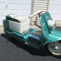 HD's Only Scooter - 1961 Harley-Davidson Topper
