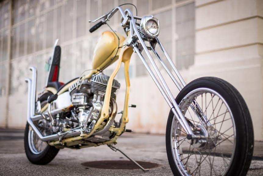 Born Free 6 Entrant 1940 Harley Davidson Ul Custom Bike Urious
