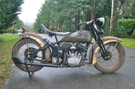 Harley Davidson VLD - Right Side