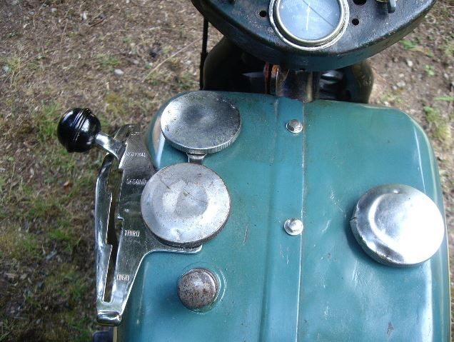 Harley Davidson VLH - Gas Tank