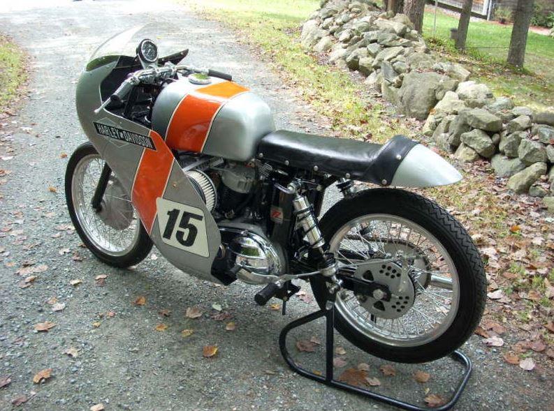 Harley Davidson Vintage Racers - Left Side