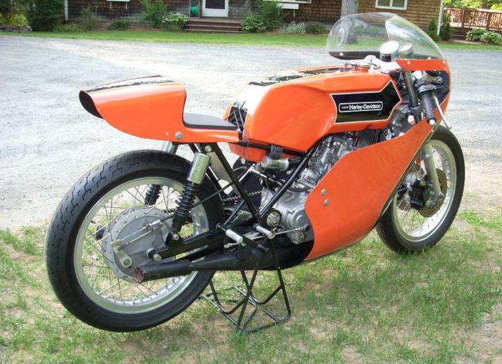 Harley Davidson Vintage Racers - Right Side