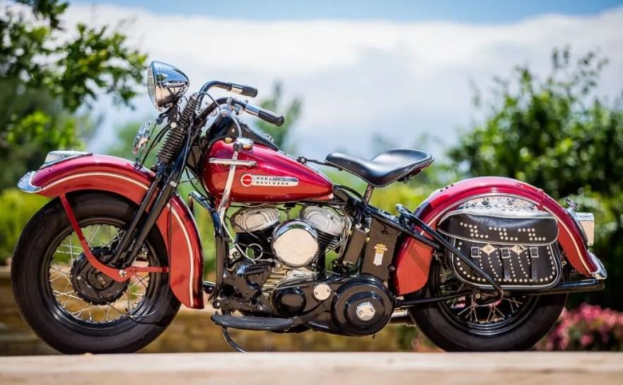 Harley-Davidson WL - Left Side