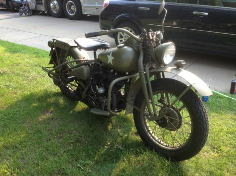 Harley-Davidson WLA - Right Front