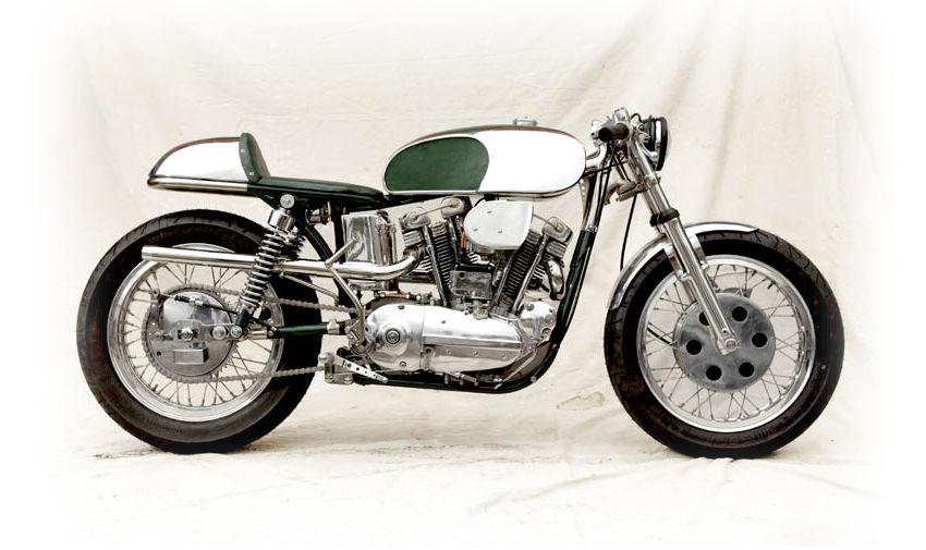 1964 harley davidson xlch sportster cafe racer | bike-urious
