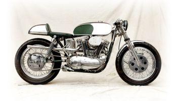 1964 Harley Davidson XLCH Sportster Cafe Racer