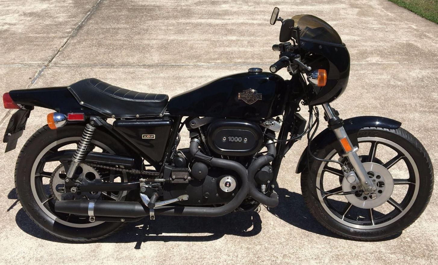 no reserve – 1978 harley-davidson xlcr | bike-urious