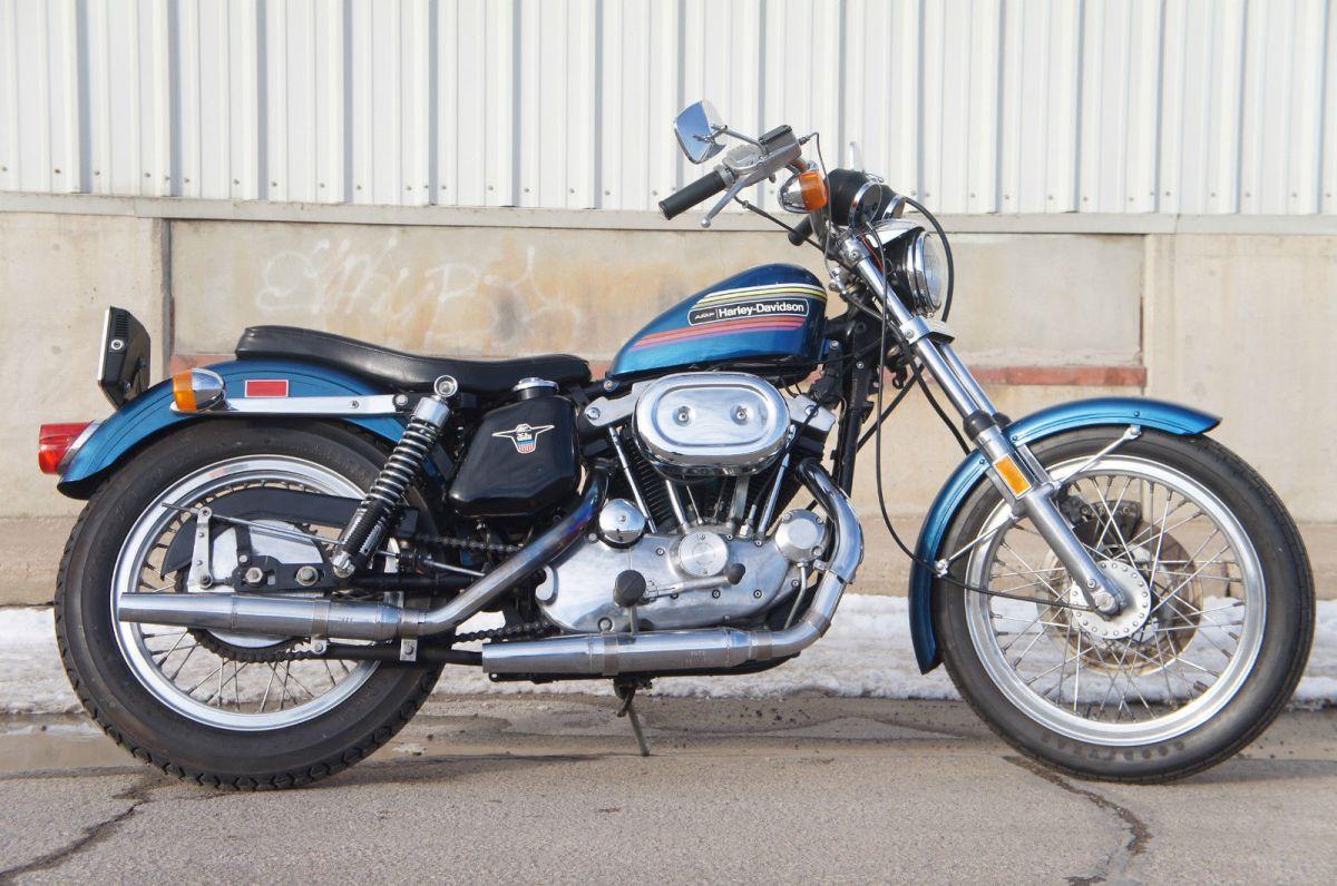 One Owner 1974 Harley Davidson Sportster Xlh Bike Urious