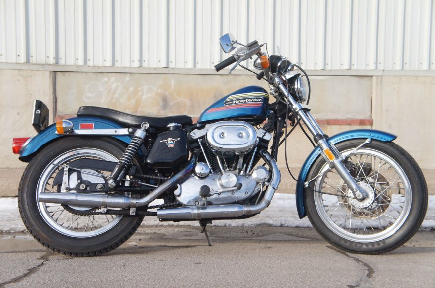 One Owner – 1974 Harley-Davidson Sportster XLH | Bike-urious