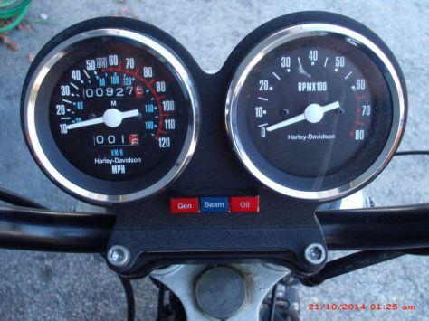 Harley-Davidson XR1000 - Gauges