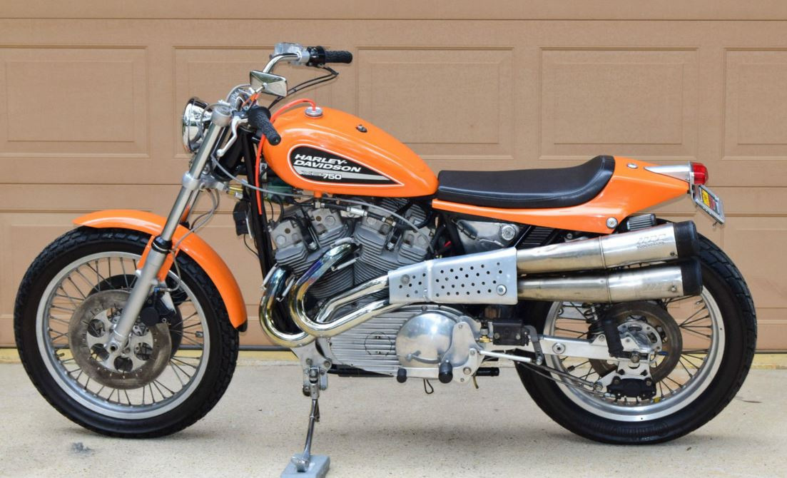 Possibly Street Legal – 1972 Harley-Davidson XR750 | Bike-urious