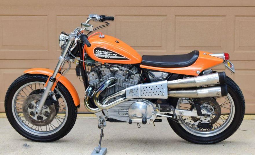 Harley Davidson: Possibly Street Legal – 1972 Harley-Davidson XR750