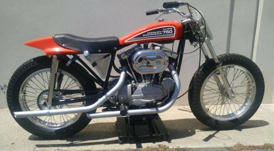 Evel Knievel 1970 Harley Davidson Xr750 Jump Bike By: First Year Race Legend – 1970 Harley-Davidson XR750