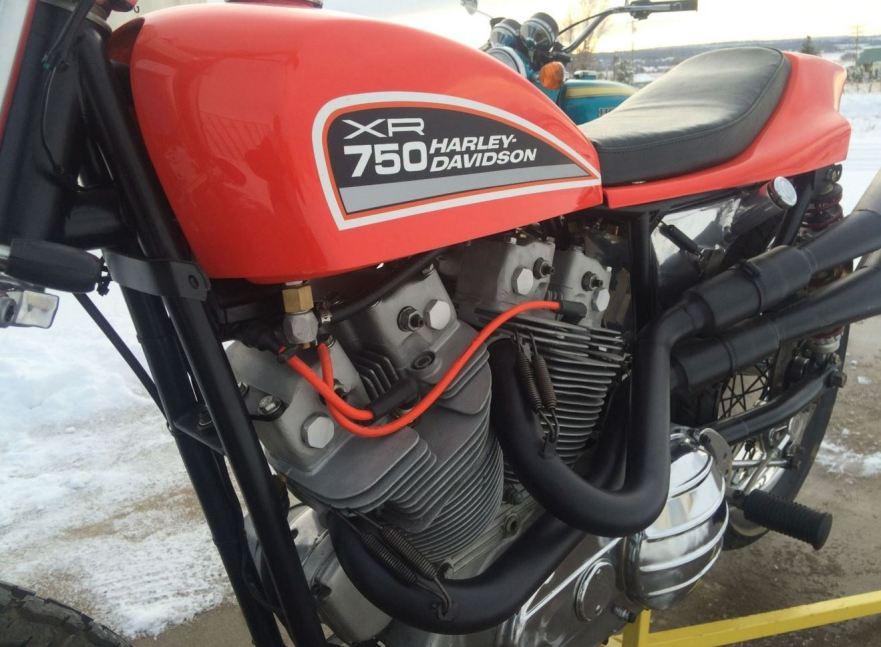 Harley-Davidson XR750 - Tank