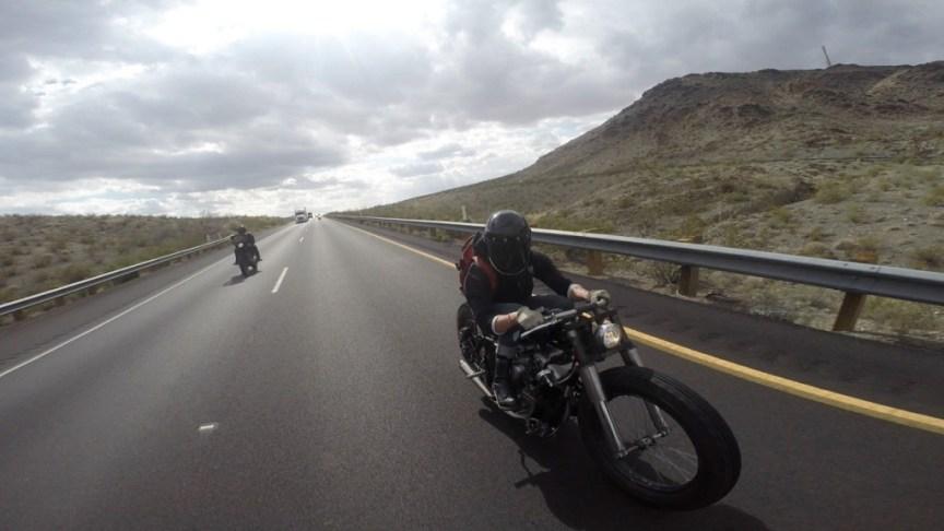 Harley Shovelhead Custom - On the Road