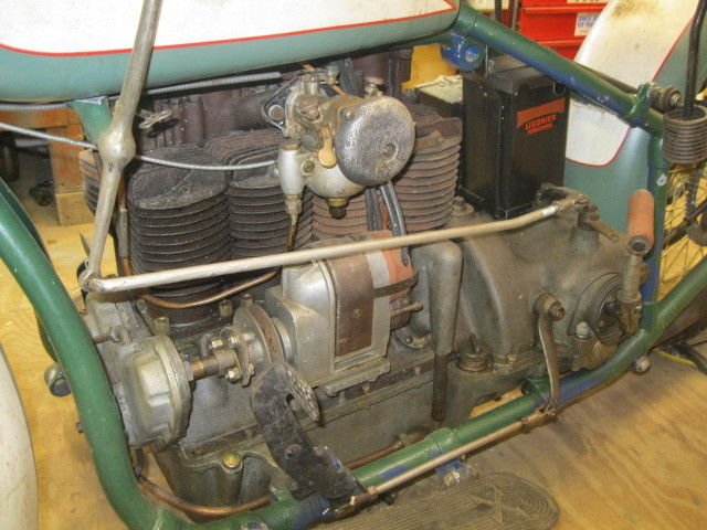 Henderson Streamline KJ - Engine