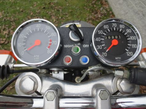Hercules Wankel 2000 - Gauges