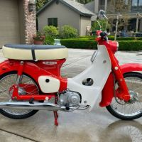 No Reserve and 89 Miles - 1966 Honda 50
