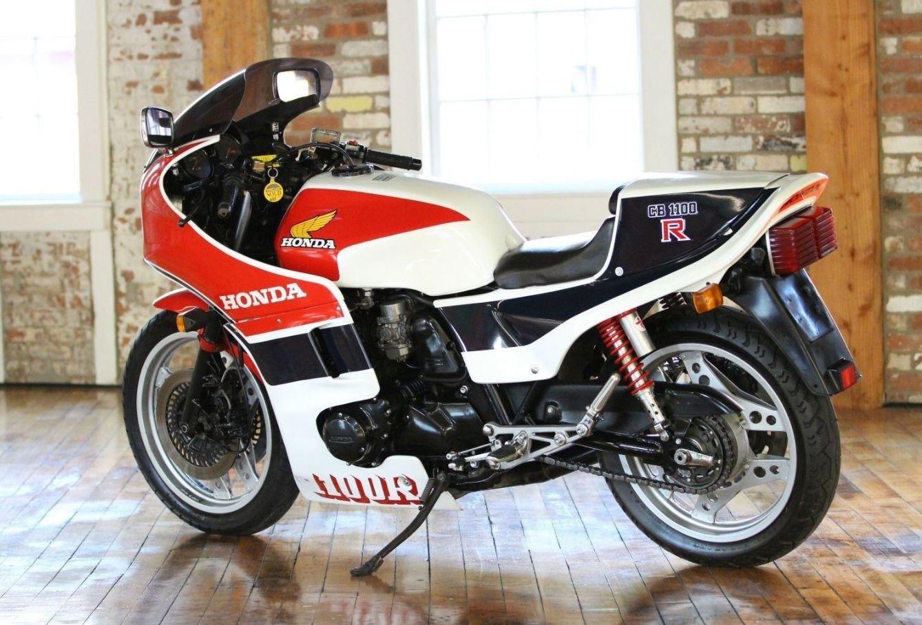 1982 honda cb1100r bike urious. Black Bedroom Furniture Sets. Home Design Ideas