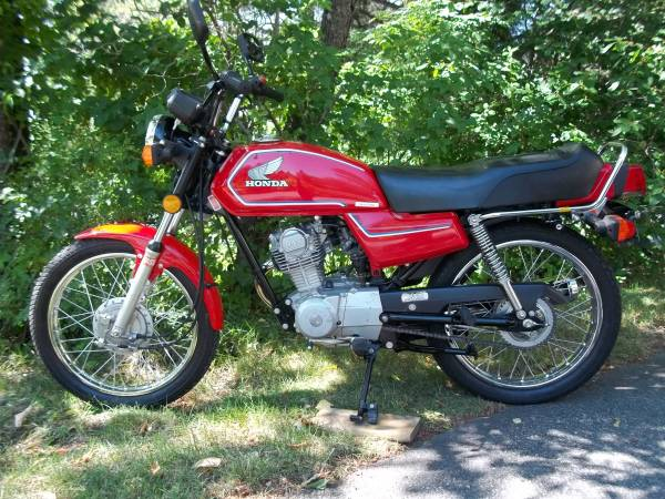 1984 honda cb125s bike urious. Black Bedroom Furniture Sets. Home Design Ideas