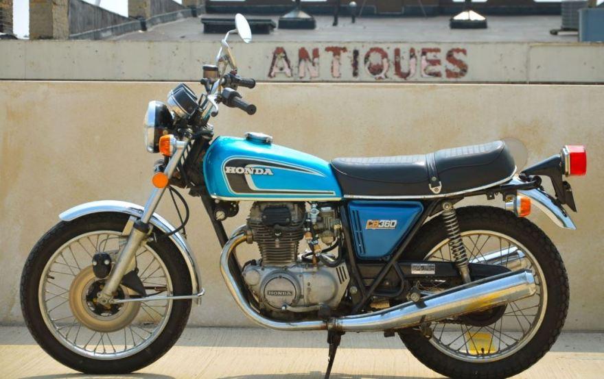 No Reserve  U2013 1975 Honda Cb360t  U2013 Bike