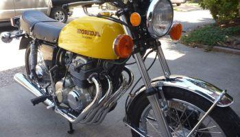 895 Miles – 1977 Honda CB400F – Bike-urious