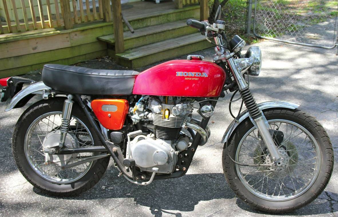 As A 74 This Is The Last Year Of Hondas First Big Bike When It Was Introduced CB450 Famously Known Black Bomber