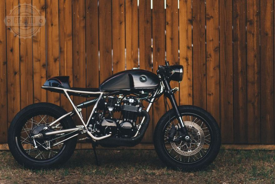 Frank 1977 Honda Cb550 Custom Bike Urious