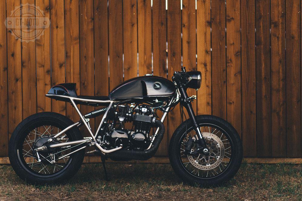 """Frank"" - 1977 Honda CB550 Custom"