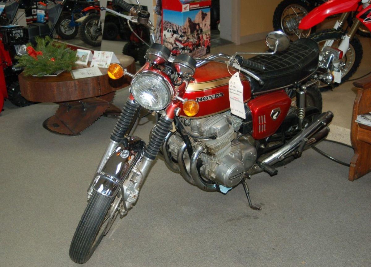 Original Sandcast - 1969 Honda CB750