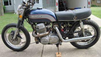 Turbocharged Custom – 1979 Honda CB750K – Bike-urious