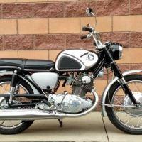 1966 Honda CB77 Superhawk
